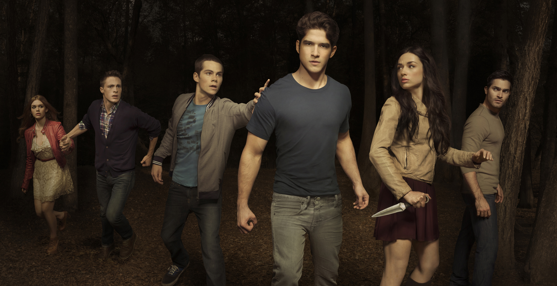 Teen Wolf Cast Season 4