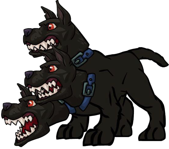 image cerberus png monsterwars wiki troll clipart logo troll clip art images