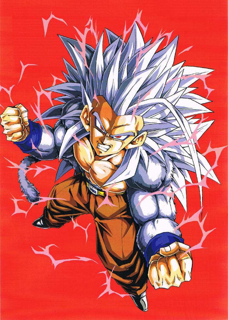 Super saiyan 5 dragon ball af wiki - Super sayen 5 ...