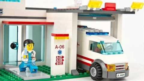 Pictures of LEGO City 2012 Hospital