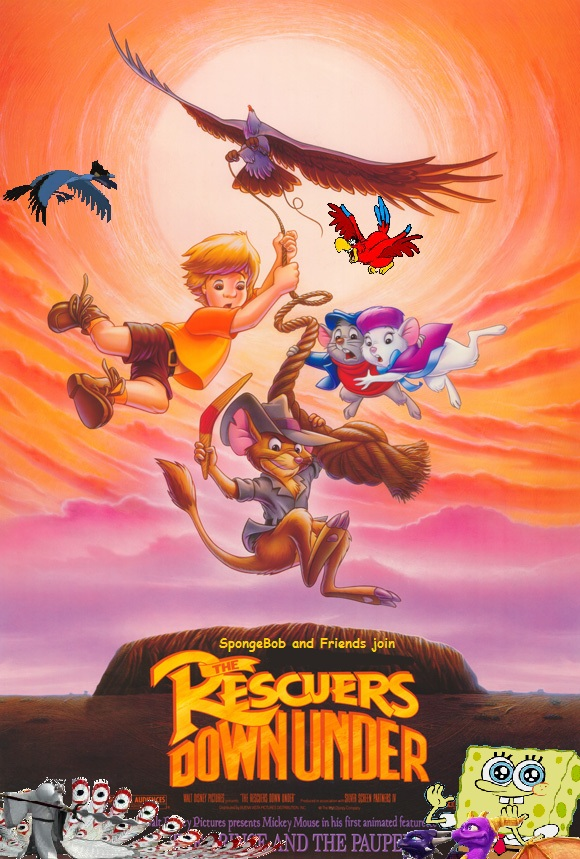 Spongebob And Friends Join The Rescuers Down Under