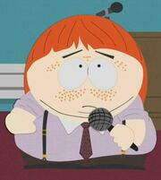 Cartman as a Ginger-kid