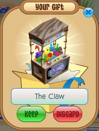 animal jam claw machine