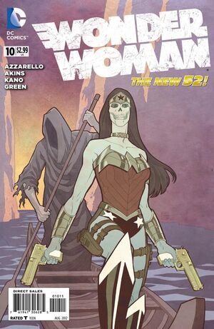 Cover for Wonder Woman #10 (2012)