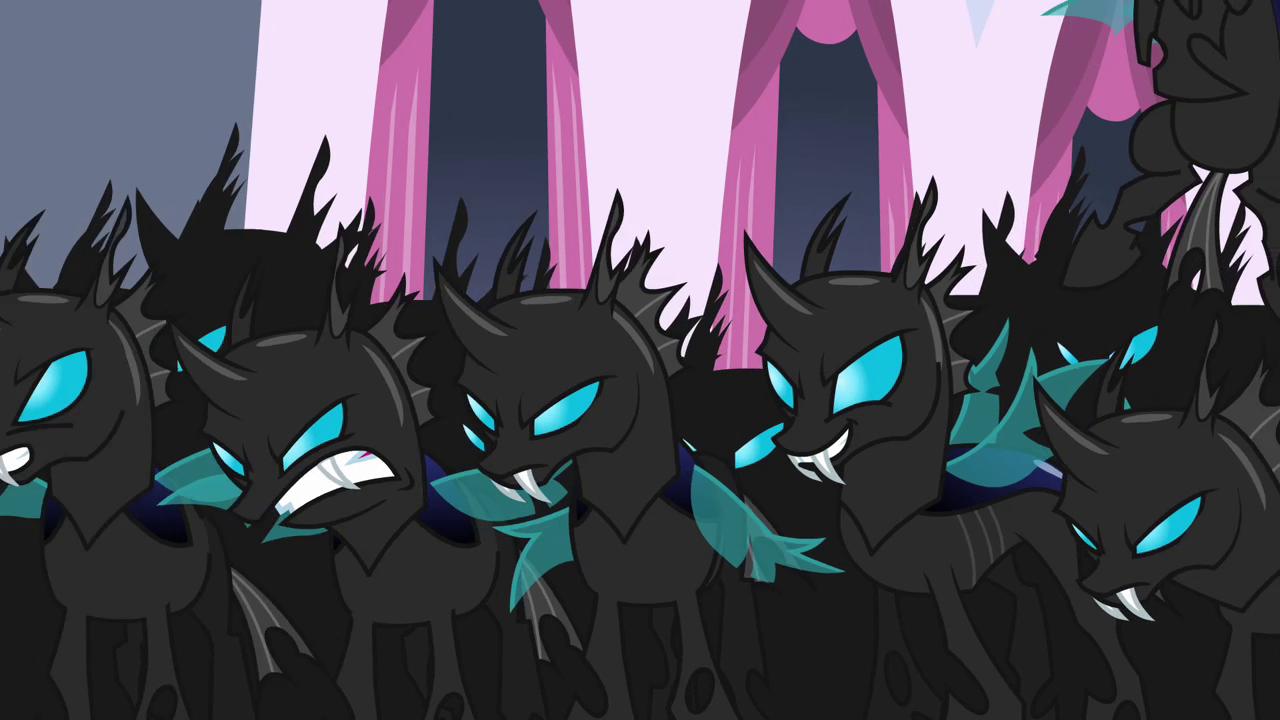 Changelings My Little Pony Friendship Is Magic Wiki