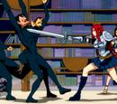 Erza Scarlet vs. Jiggle Butt Gang