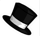 Pin de Sombrero de Copa