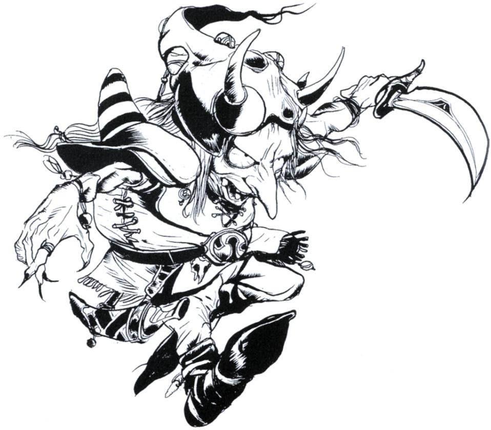 Goblin Warrior Art