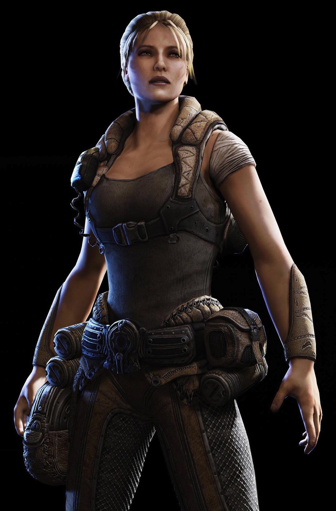 Anya Stroud - Gearspedia, the Gears of War wiki - Gears of War, Gears of War 2, weapons, and more