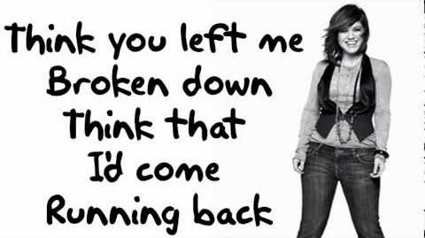 Kelly Clarkson - Stronger (What Doesn't Kill You) LYRIC VIDEO