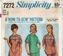 Simplicity 7272 B