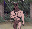 Hombre ciervo
