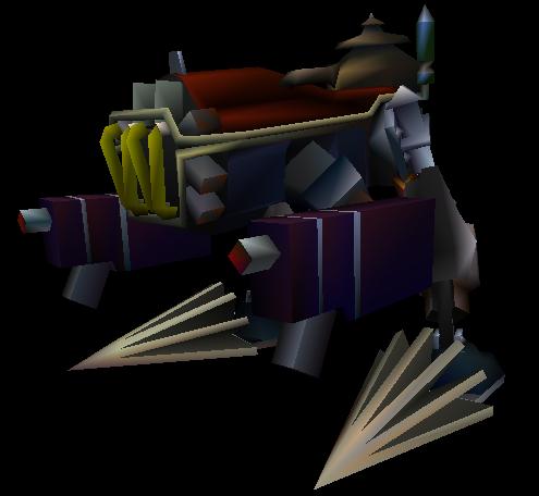 Bestiario: Monstruos normales Cementerio de Trenes Death_Machine_FF7