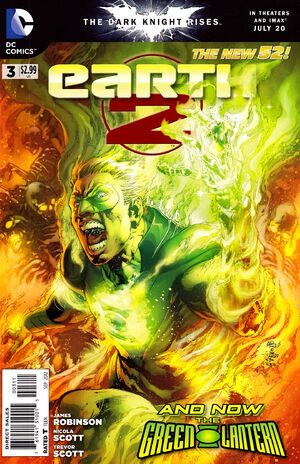 Cover for Earth 2 #3 (2012)