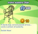 Ironix Austere Chair