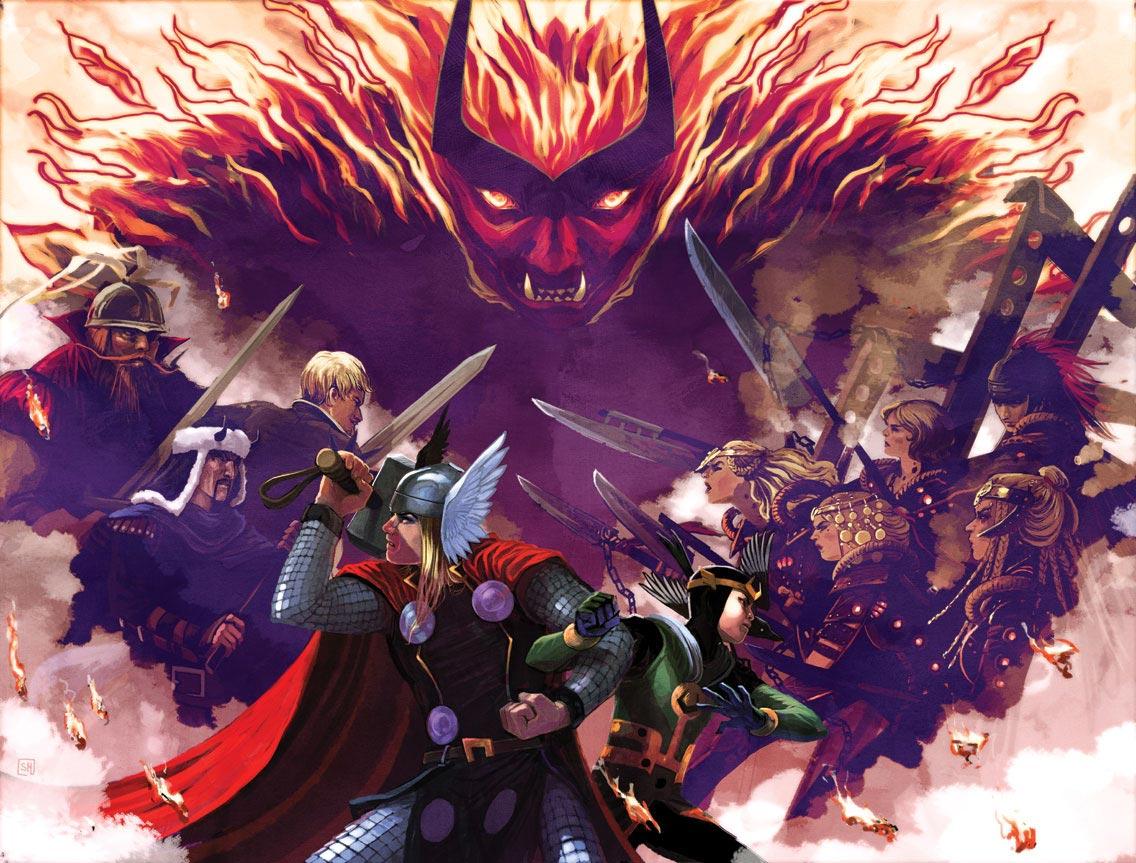 Everything Burns - Marvel Comics Database