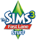 The Sims 3 Fast Lane Stuff Logo.png