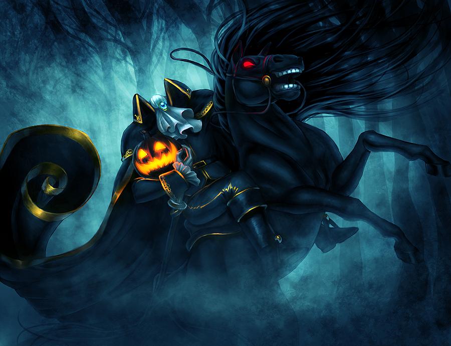 Headless horseman folklore villains wiki villains bad guys comic books anime - Pictures of the headless horseman ...