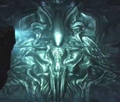 Image prometheus mural alien anthology wiki wikia for Prometheus xenomorph mural