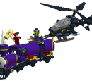 Custom:Joker's Laughing Train and the Bat-Copter