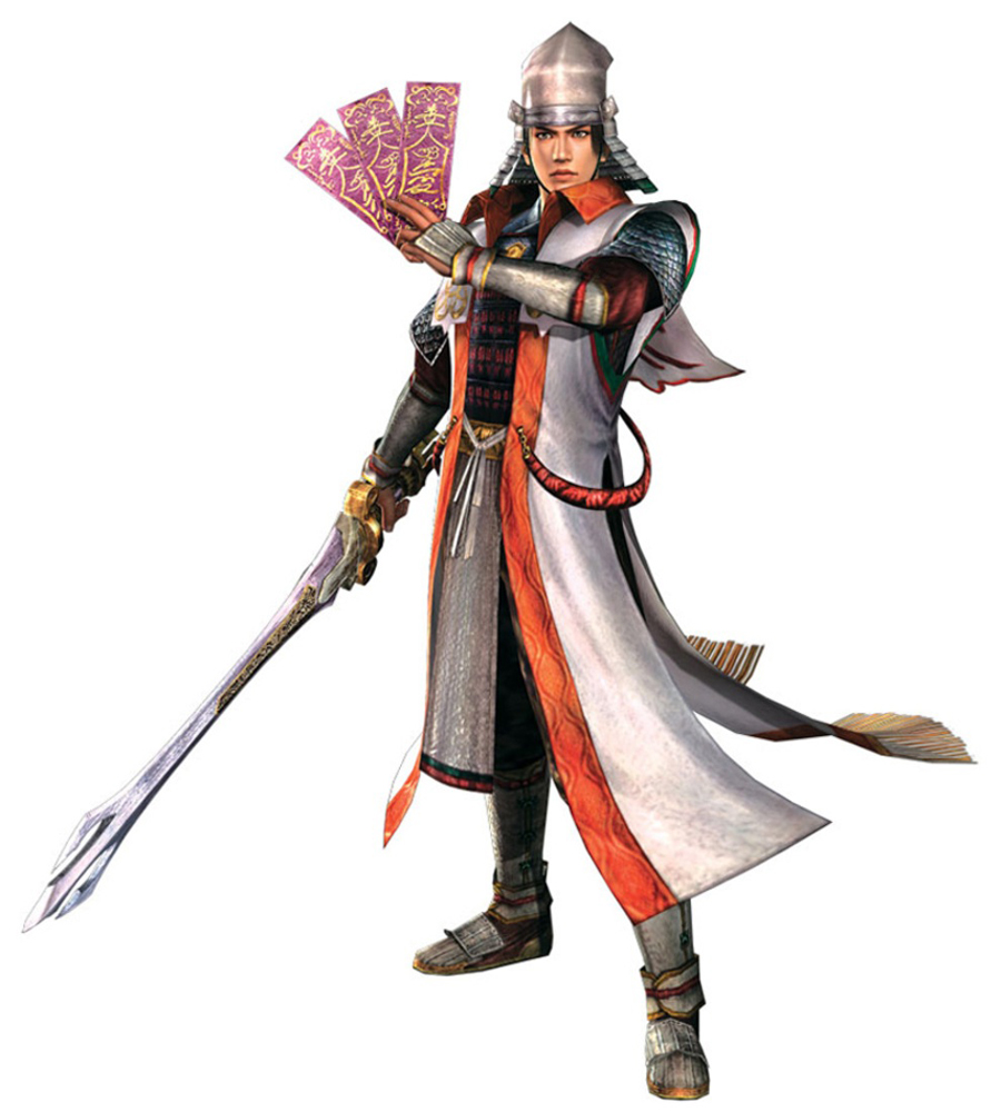 Warriors Orochi 3 Ultimate Da Ji Mystic Weapon: SW2 Kanetsugu Naoe.jpg