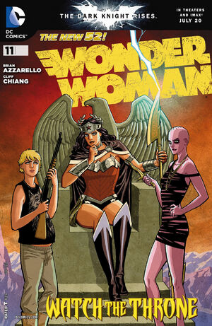 Cover for Wonder Woman #11 (2012)