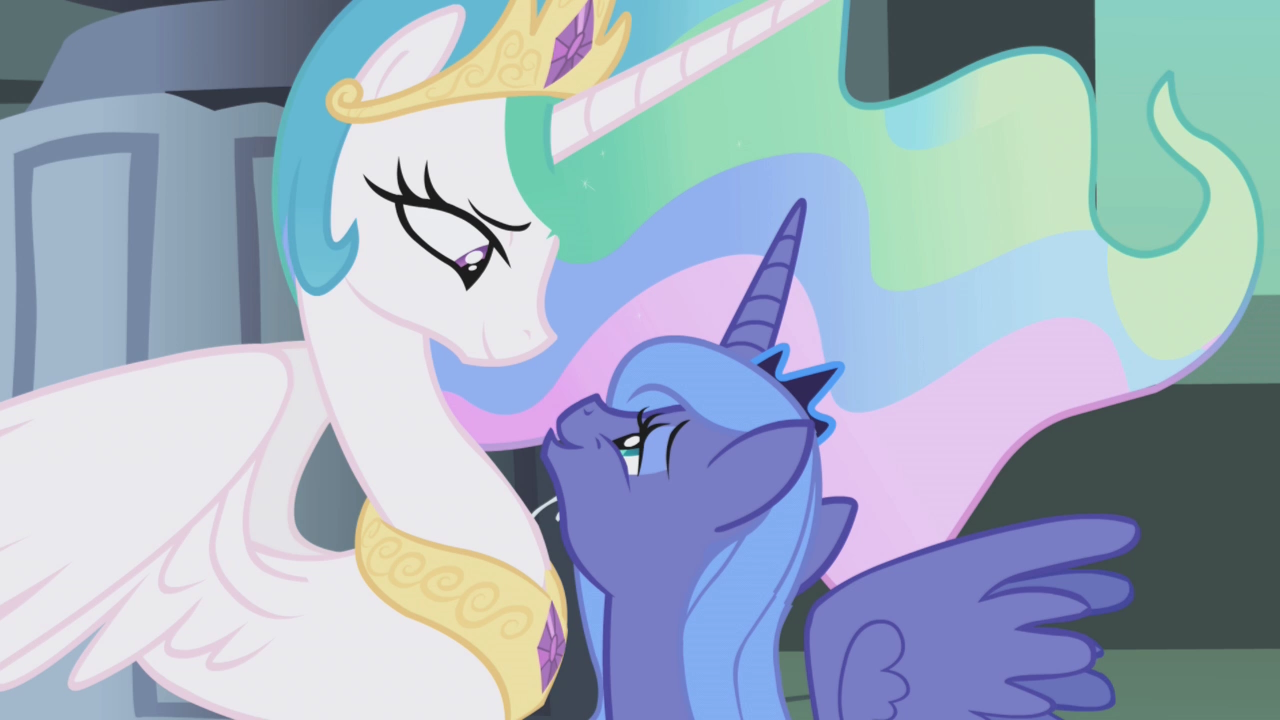 Luna accepting celestia 39 s friendship s1e02 - Princesse poney ...