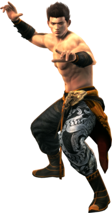 DOA5 Jann Lee Render