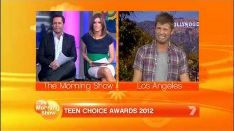"Teen Choice Awards ""Recap"" on Morning Show"