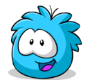 Happy65/24th March 2012- Featured Puffle: Blue Puffle