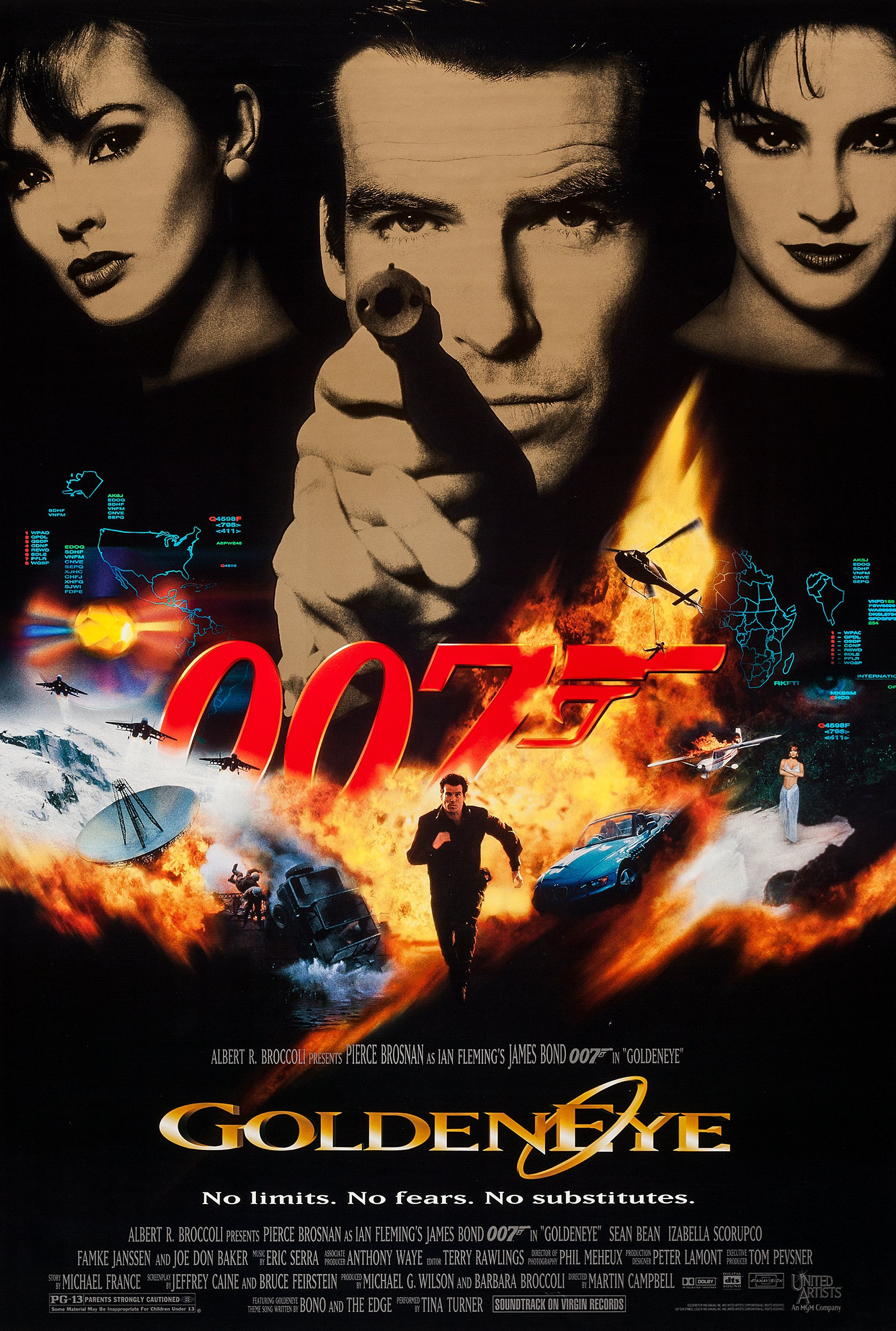 Goldeneye movie posterGoldeneye Movie Poster