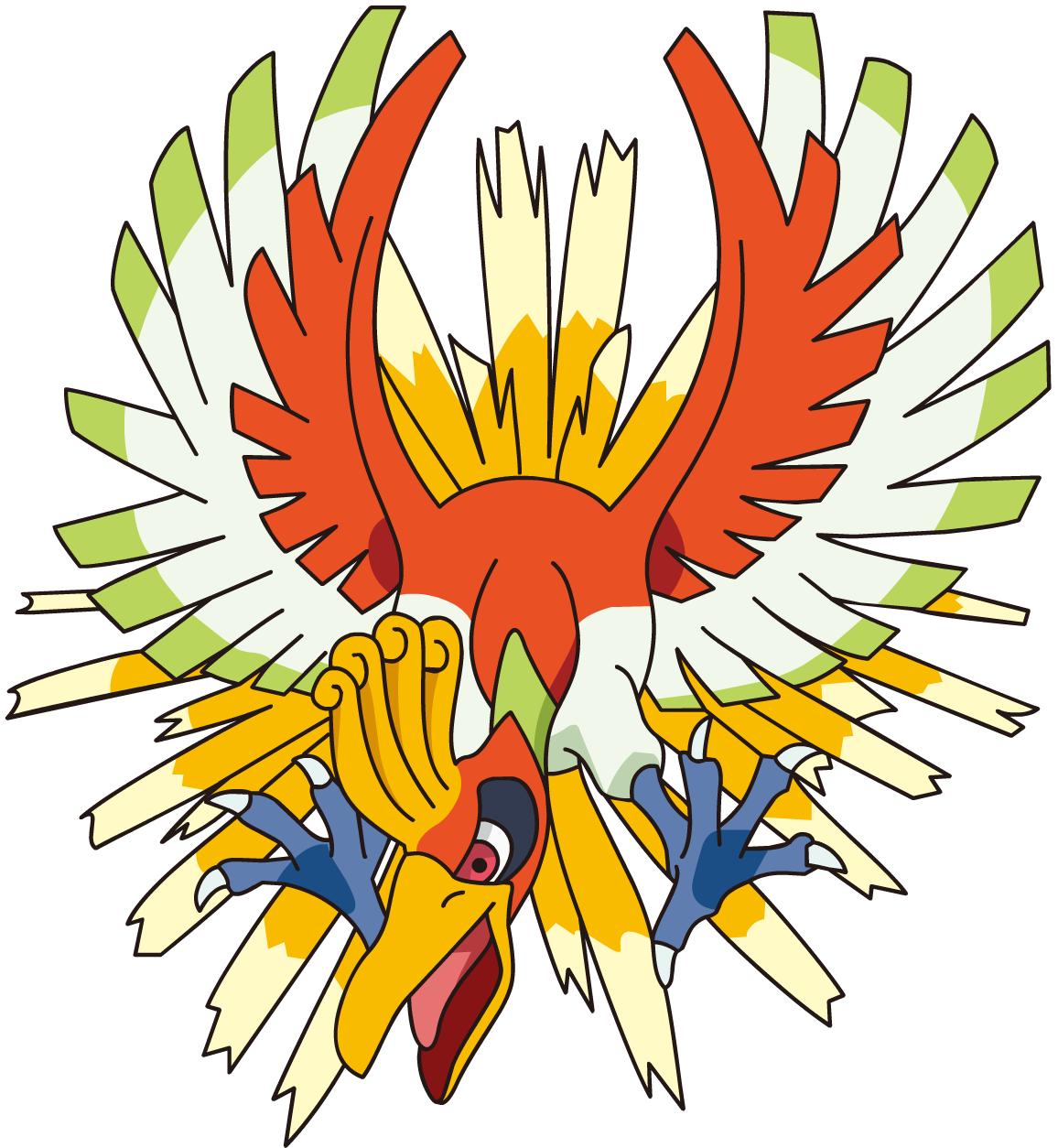Ho oh sonic pok mon wiki - Pokemon argent pokemon rare ...