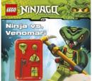 Ninja vs Venomari Activity Book