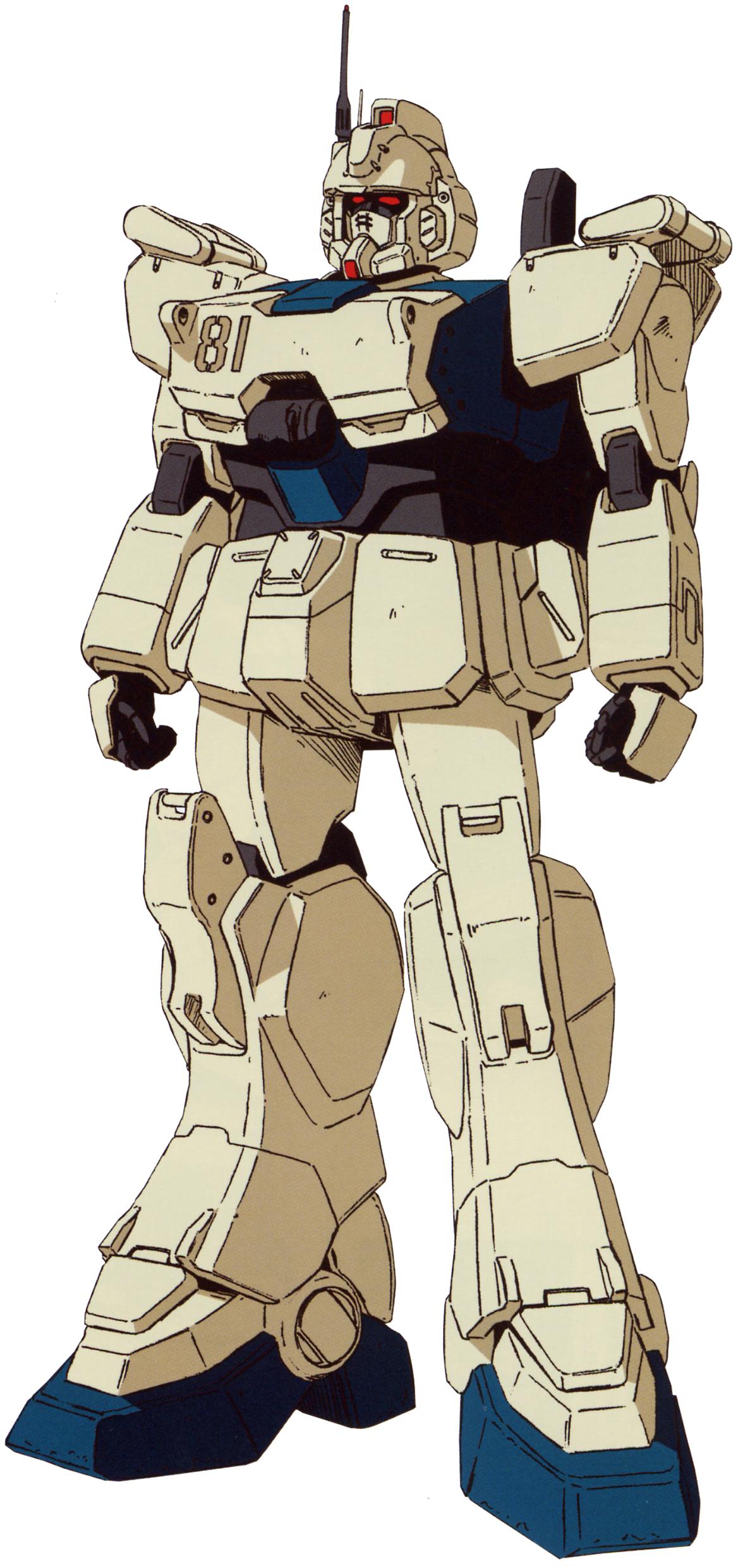 RX-79 [G]EZ-8 Gundam Ez8 Rx-79g-ez8