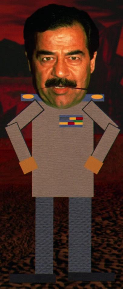 imagen de la muerte de saddam hussein: