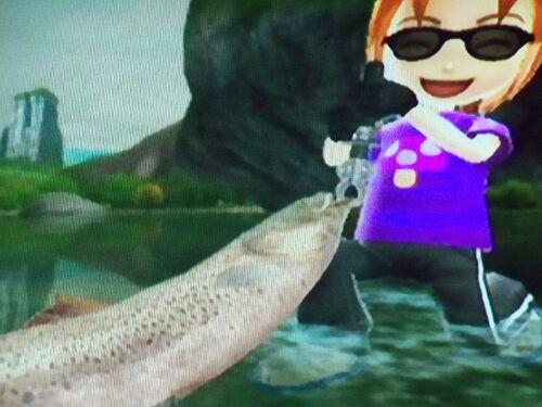 Hucho Taimen - Wii Fishing Resort Wiki King Of Herrings