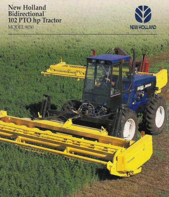 Ford Bi Directional Tractor : New holland versatile bi directional tractor