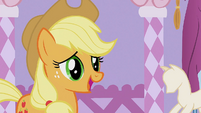 Applejack 'I was just gonna wear my old work duds' S1E14