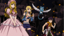 Michelle, Lucy and Romeo watch Natsu's battle.png