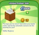 Utopia Premier Sink