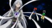 Masamune e Gingka rosto Faust