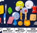 Screamers/Evil BFDI Cast/Entire BFDI Cast/BFDI Contestant