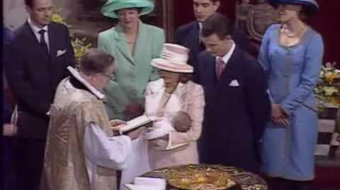 Christening of Prince Nikolai of Denmark