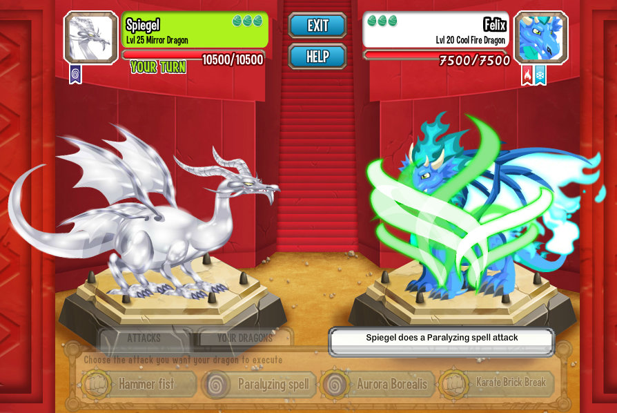 Cool Fire Dragon Pictures Dragon city cool fire dragon