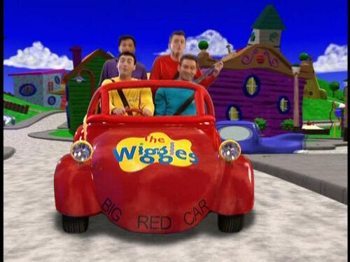 Wiggle Race Car