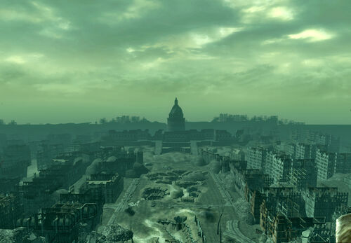 Washington monument the fallout wiki fallout new vegas and more - Fallout new vegas skyline ...