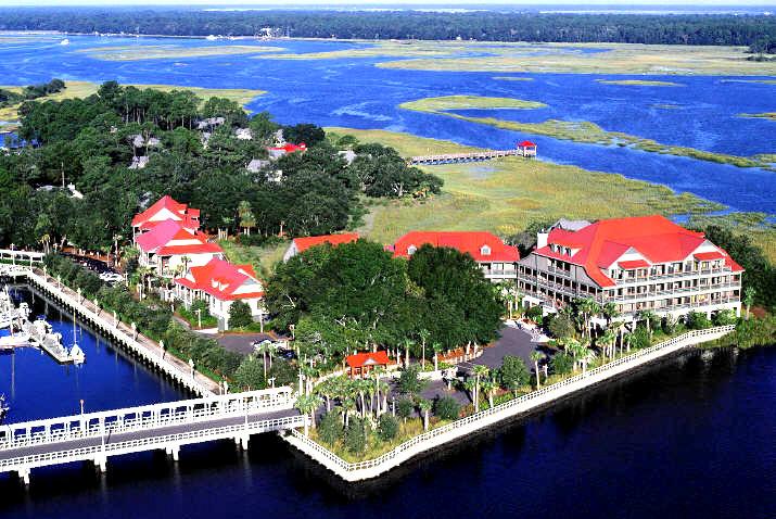 Hilton Head Island Map Of Resorts