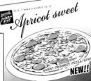 Apricot Sweet Pizza