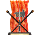 The Axe Bacon Shillelagh Trophy