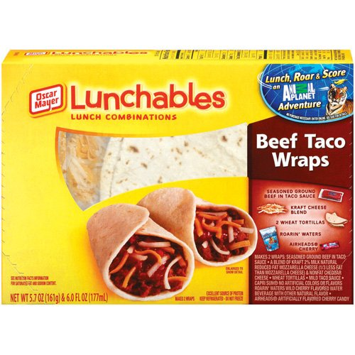 Lunchables Taco Taco Bell Lunchables Brands
